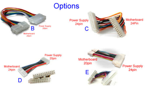 Complete 110v /& 230v Brand ATX Power Supply Unit Standard ps2 PSUs