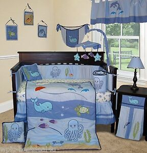 Image Is Loading Baby Boutique Under The Sea 15 Pcs Nursery