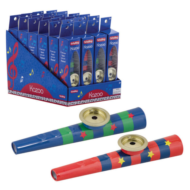 Kazoo Music Toys by Schylling KZ NEW Pick the color while supplies last