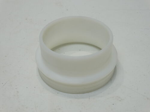 """2008-2015 Can-Am DS450 4/"""" White Plastic Filter Adapter Velocity Ring"""