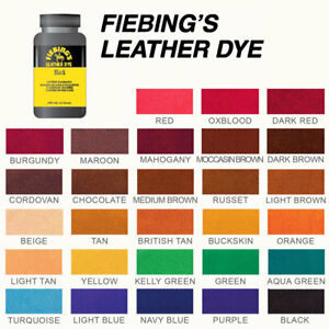Fiebing S Leather Colour 118ml Repair Amp Recolour Dye Stain