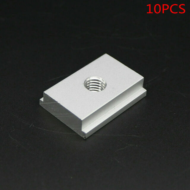 SET of 10PCS, M6 T-Slider for T-slot for Various Woodworking Jigs