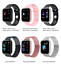 thumbnail 1 - T80 Smart Watch Heart Rate  Monitor Fitness Tracker Smart Bracelet with 2 strap