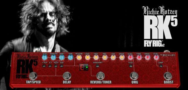 Tech 21 Richie Kotzen RK5 v2 Signature FlyRig Guitar Effects Pedal - 2 Year A...