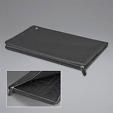 El Casco Note Pad Black Leather