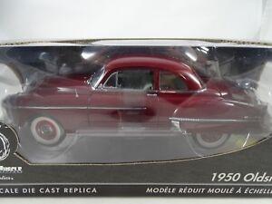 1-18-Ertl-Authentics-1950-Oldsmobile-Rojo-Rareza-Nuevo-Embalaje