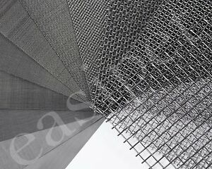 Stainless Steel Woven Wire Mesh Filter Grading Sheet