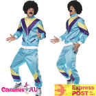 Mens 80s Height Fashion Scouser Tracksuit Shell Suit Costume 80's 1980s Party