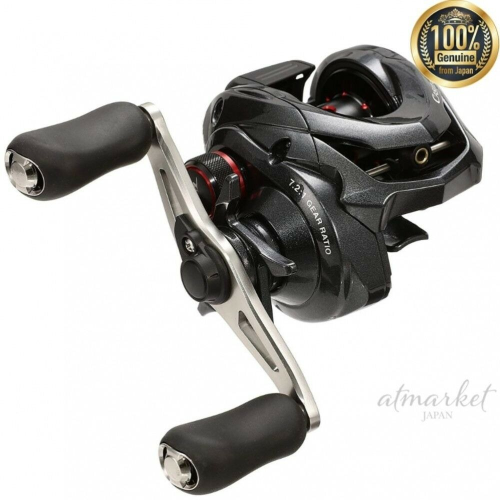 SHIuomoO bait reel 16 Casitas MGL 100HG right hele Fishing genuine from JAPAN