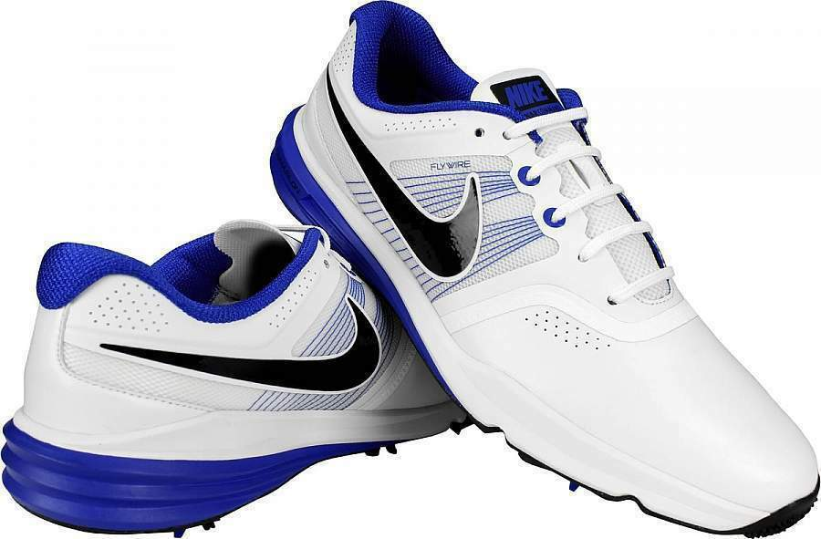 Nike Lunar Command Golf Flywire Men's White Blue 704427 101 NEW > YOU PICK SIZE