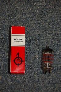 NATIONAL ELECTRONICS VACUUM TUBE 12AU7A/ECC82
