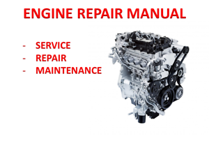Details about Suzuki K6A-YH6 Engine Technical Repair Manual