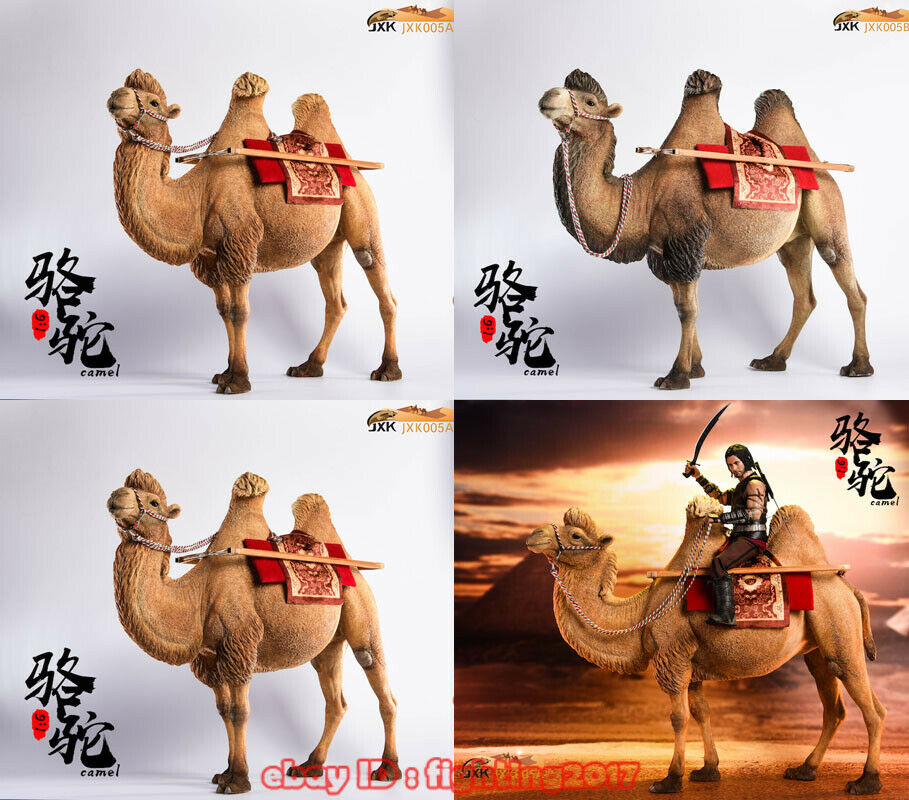 1 6 jxk. Studio Jxk005 Camelus Camello bactriano Modelo Animal Juguete Figura de ajuste de 12