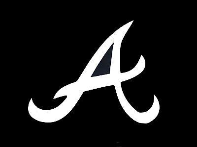 "Atlanta Braves /""a/"" MLB Decal Sticker Car Truck Window Bumper Laptop Wall"