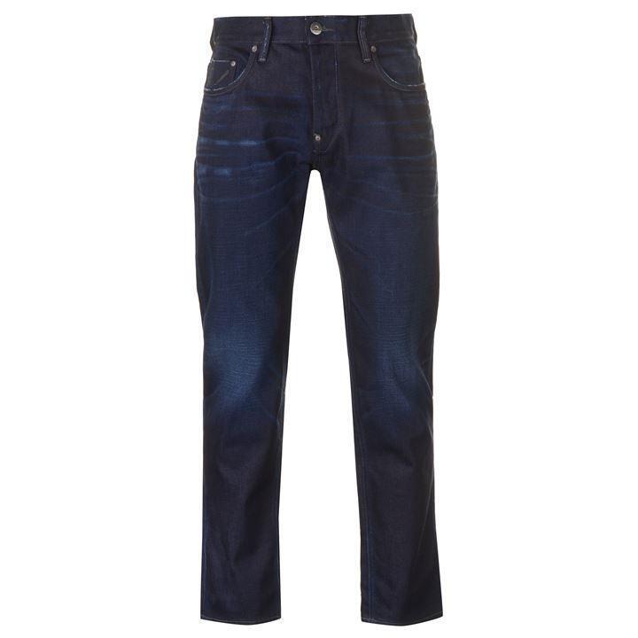 G G G STAR 50902 Jeans Difendere Loose Jeans Raw Denim Jeans Blu Da Uomo W33 L32 04d218