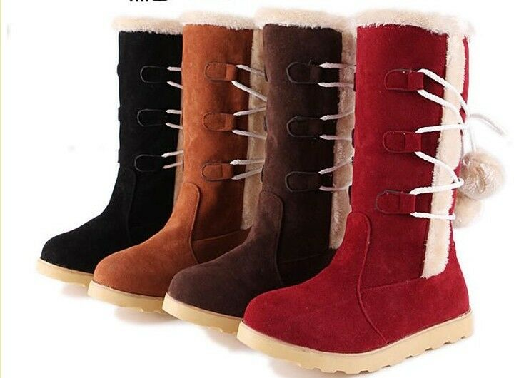 Stiefel Schuhe Weiß Hellbraun Schwarz Absatz 1 Leder Kunststoff 9154