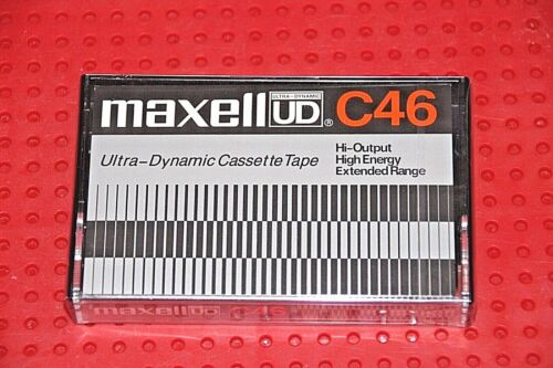MAXELL UD  46  VS SEALED 1 IV   NEW VERSION      BLANK CASSETTE  TAPE