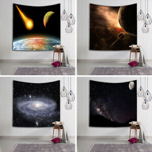Indian Psychedelic Tapestry Wall Hanging Galaxy Hippie Home Decor