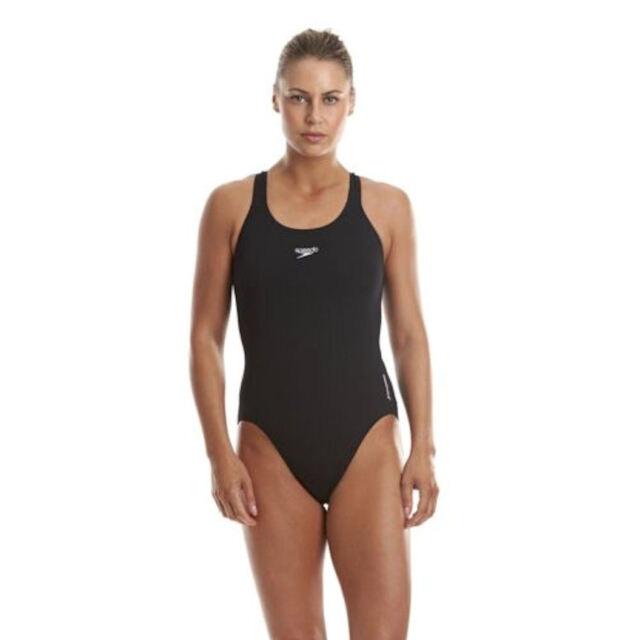 ba8193ac766c6f Speedo Endurance+ Medalist Swimsuit.Ladies Girls Swimwear.Speedo Black  Swimsuits Sc 1 St EBay