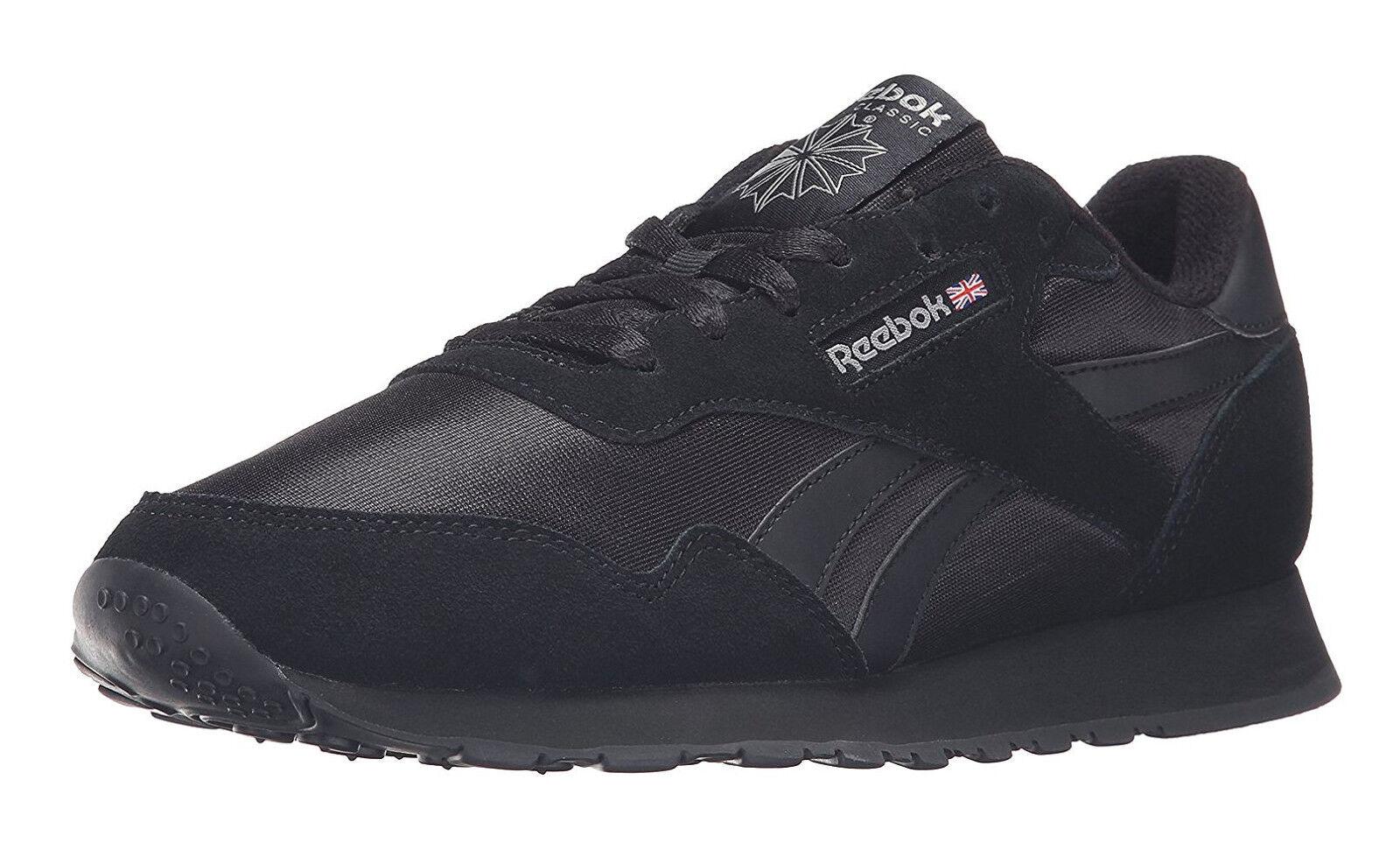 Reebok Clásico Nylon Royal Nylon Clásico Negro Zapatos Tenis De Hombre Para Correr De Carbono a49ac0