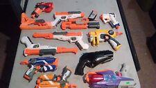 Sh560 Lot 11 Nerf blaster guns SharpFire Triad nitefinder big shot firestrike