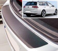 VW Golf MK7 Ranchera - Estilo Carbono parachoques trasero Protector