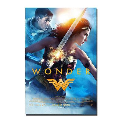 Wonder Woman Hot Movie Art Silk Canvas Poster Print 13x20 24x36/'/'