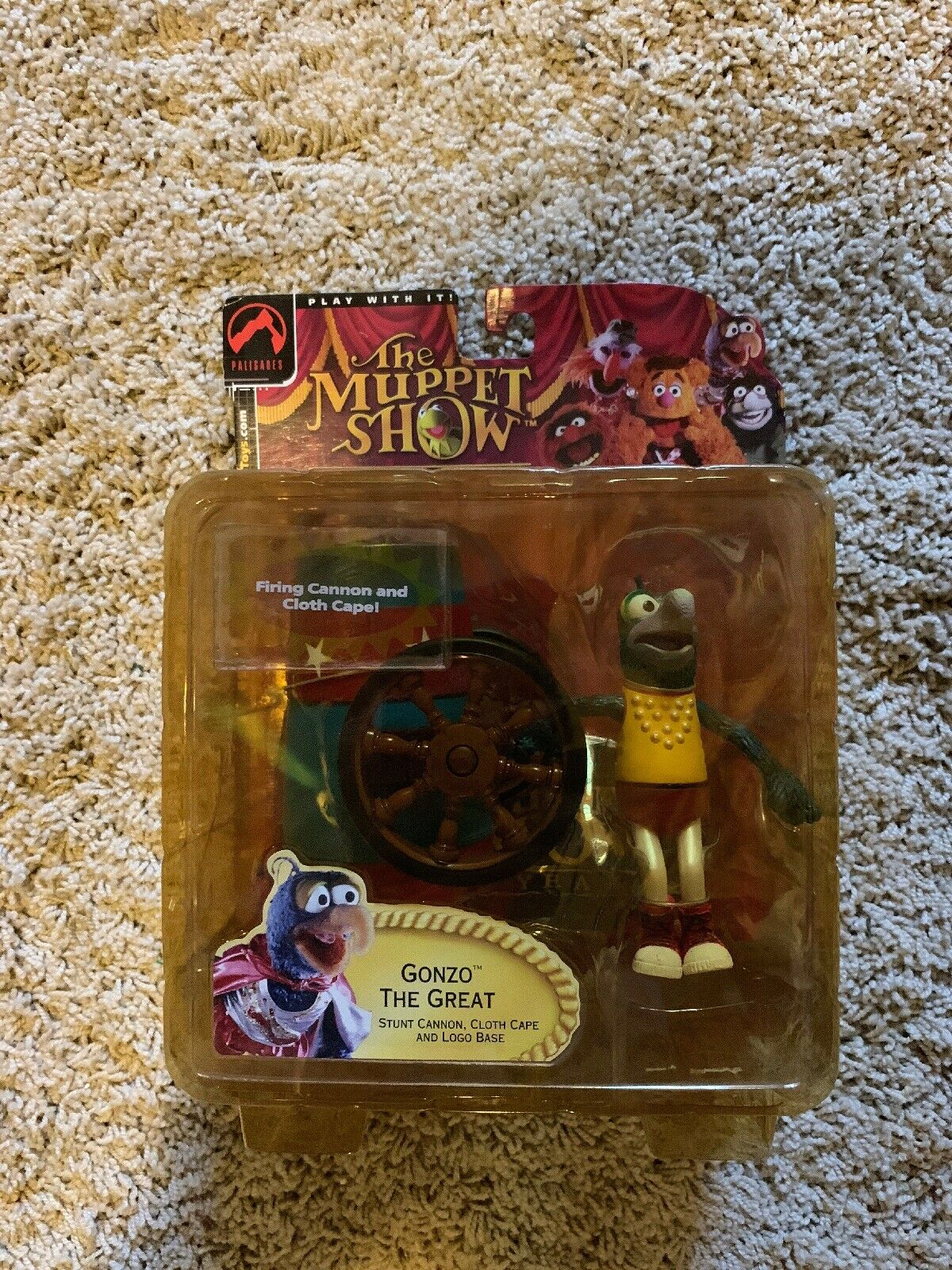PALISADES MUPPET mostrare 25th Anniversary Exclusive GONZA LA GReE