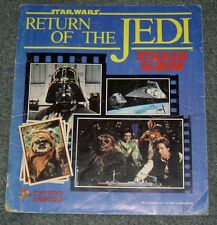 STAR WARS VINTAGE RETURN OF THE JEDI STICKER ALBUM,BOOK 1983,COMPLETE! PANINI.14