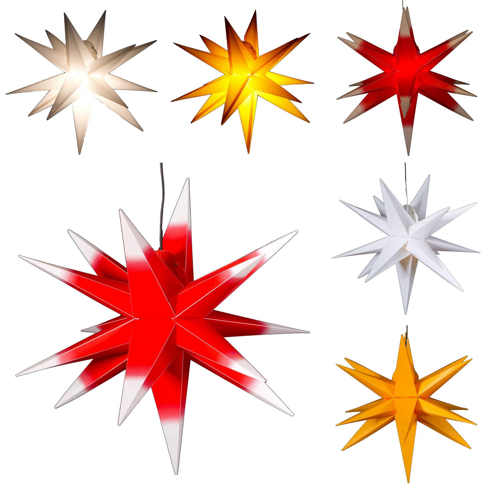 Groß ca. 65 cm  Stern  außen, Adventsstern, Weihnachtsstern, Außenstern, 3D