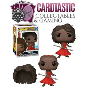 Black Panther Okoye With Red Dress Nycc 2018 385 Funko