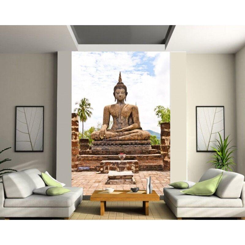 Stickers géant déco   Bouddha 1302