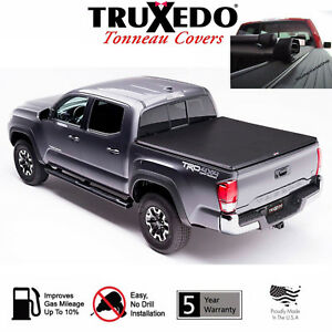 Toyota Tacoma Bed Cover >> Truxedo Truxport Roll Up Tonneau Cover 2005 2015 Toyota Tacoma 5ft