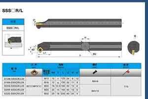 1pcs S16Q-SSSCL09 16×180mm Internal FOR SCMT09T3 SCGT09T3