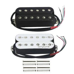 OriPure-Alnico-5-Double-Coil-Humbucker-E-Gitarre-Bruecke-Pickup-14K-Einstellbar