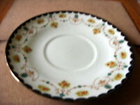 """ANTIQUE CLIFTON CHINA W H & S """"HADDON"""" PATTERN (NO.1816) PLATE (22 CM)"""