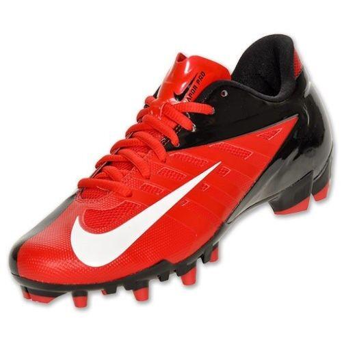 NIB Nike Vapor Pro TD Low Football Cleats- Red & Black- $90+