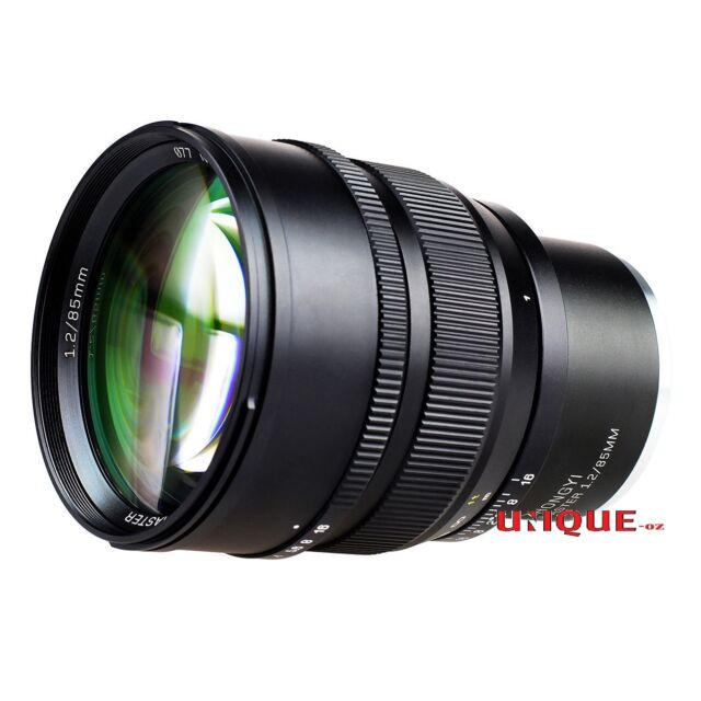 Zhongyi Mitakon Speedmaster 85mm f/1.2 Camera Lens for Sony FE Mount