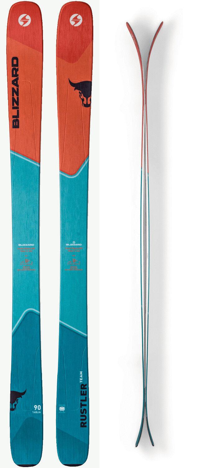 Blizzard Rustler Team Ski Set 148 cm Freeride Ski Junior Allmountain Kinder J18