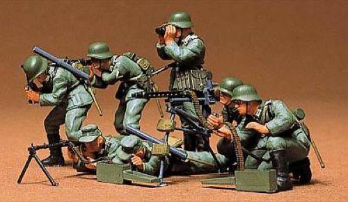 TAMIYA 35038-1//35 1//35 German Machine Gun Troops NEU
