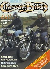 Classic Bike 89-02 AJS 31CSR  Matchless G12 Seeley Weslake Ducati 750SS 900SS