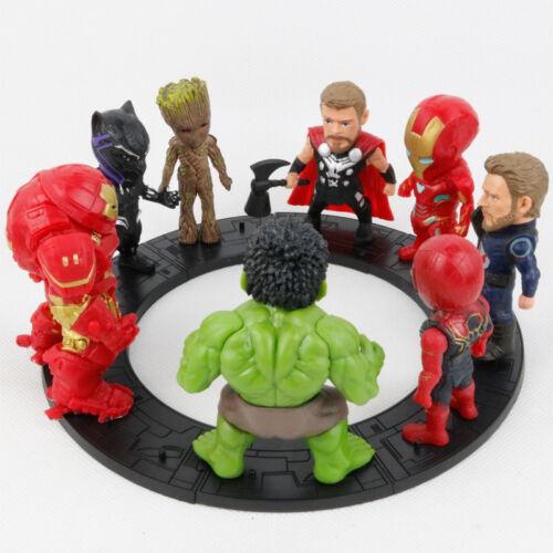 Spiderman Venom Carnage Harley Quinn Action Figur Figuren Spielzeug Geschenk DE
