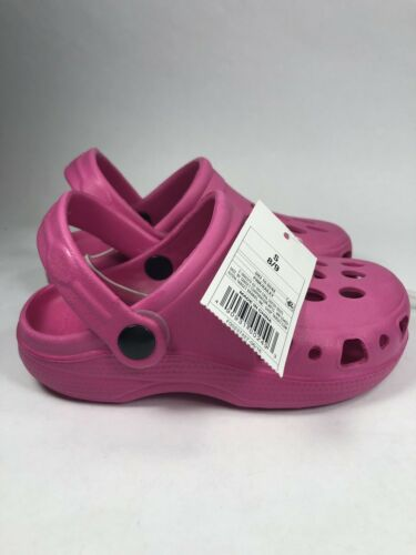 NEW Girls Circo Hot Pink Clogs Water Shoes Sandals Size Small 8//9 NWT