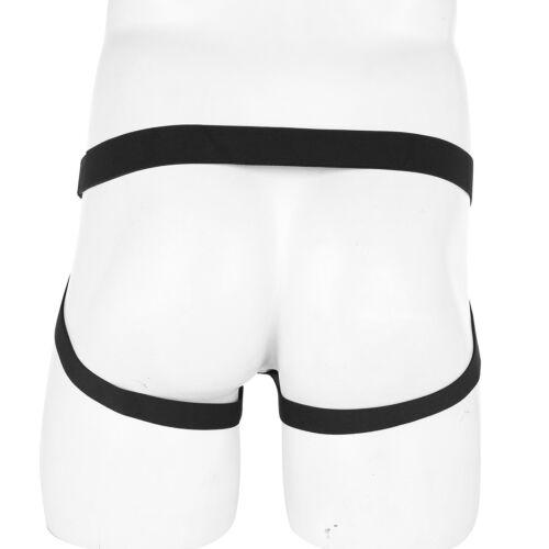 Men/'s Leather G-string Bikinis Briefs Jock strap Underwear Thongs Pouch Lingerie