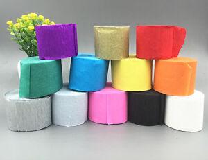 Image Is Loading Crepe Paper Ribbon Birthday Decoration DIY Children Handmade
