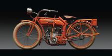1910 FLYING MERKEL BOARD TRACKER VINTAGE MOTORCYCLE POSTER STYLE B 18x36 HI RES