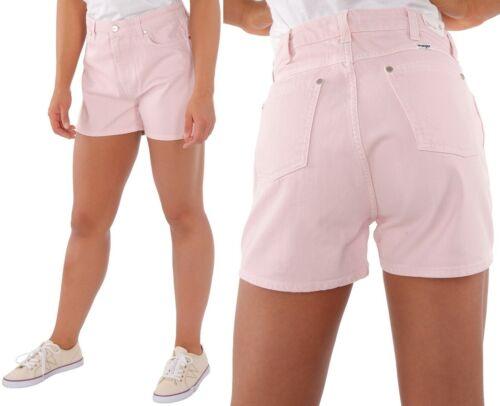 M S Wrangler Damen Jeansshort Retro Boy Pretty Pink Rosa XS
