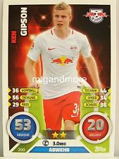 Match Attax 2016/17 Bundesliga - #200 Ken Gipson - RB Leipzig