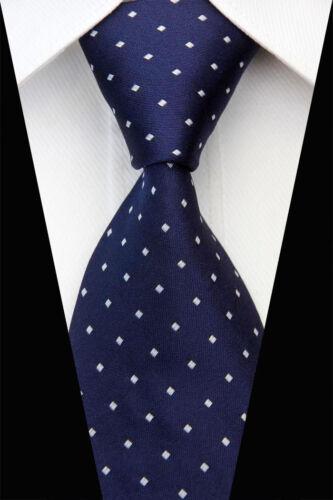 Black Red Blue Purple Grey Wedding Stripe Paisley Dots Necktie Silk Men Ties