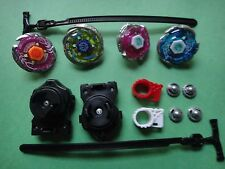 WOW Rare 4D Lian Fa Toys Metal Fusion Beyblade Clash Tornado Speed Top Set USA